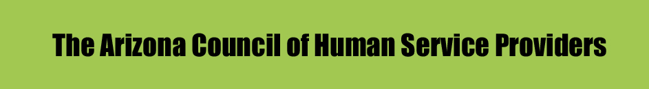 Arizona Council of Human Service Providers